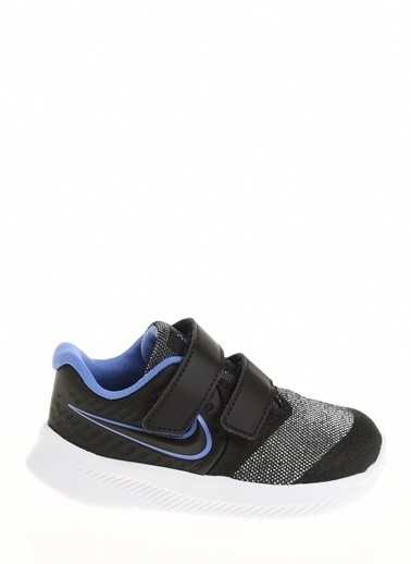 Nike Kız Bebek Siyah Spor Ayakkabı CD6832 - 041 NIKE STAR RUNNER 2 GLITTER TDV Siyah